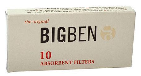 Фильтры для трубок Big-Ben 9мм 10 шт вид 1