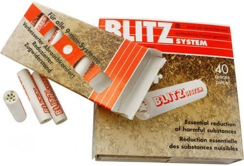 Фильтры для трубок Blitz 40 шт вид 1