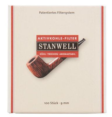 Фильтры угольные Stanwell 9 мм 100 шт вид 1