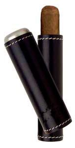 Футляр Xikar 241BK Black на 1 сигару вид 1