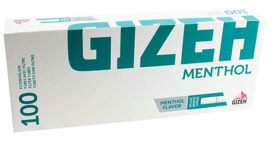 Гильзы для самокруток Gizeh Menthol 100 шт вид 1