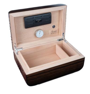 Хьюмидор Gentili Limited Edition на 40 сигар SV40-LE-Croco-dark вид 2