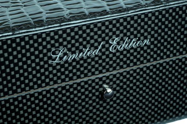 Хьюмидор Gentili на 20 сигар Limited Edition SV20-Croco-Black вид 3
