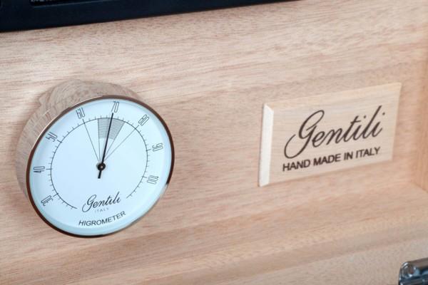 Хьюмидор Gentili на 50 сигар SVH09-Incavo Макассар вид 3