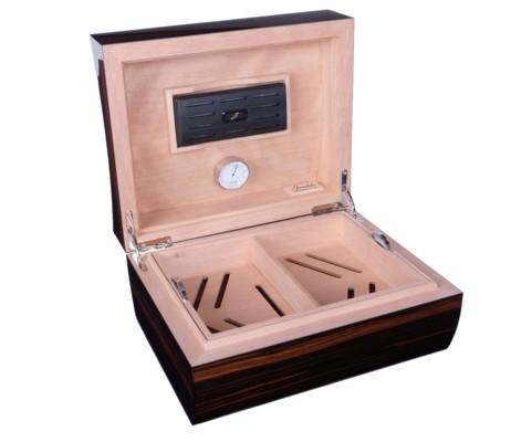 Хьюмидор Gentili на 60 сигар S60-Macassar-concavo вид 2