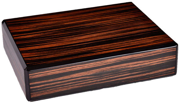 Хьюмидор Howard Miller на 10 сигар 810-010 Эбеновое Дерево вид 1