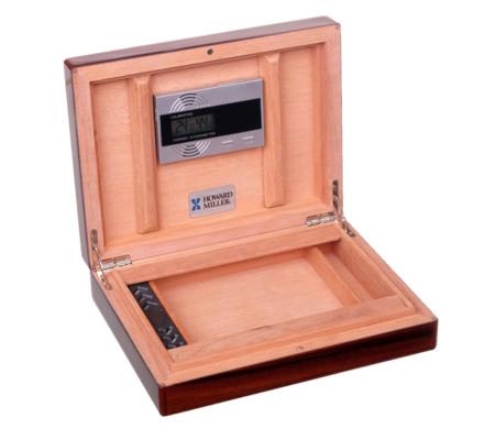 Хьюмидор Howard Miller на 10 сигар 810-008 Розовое Дерево вид 2