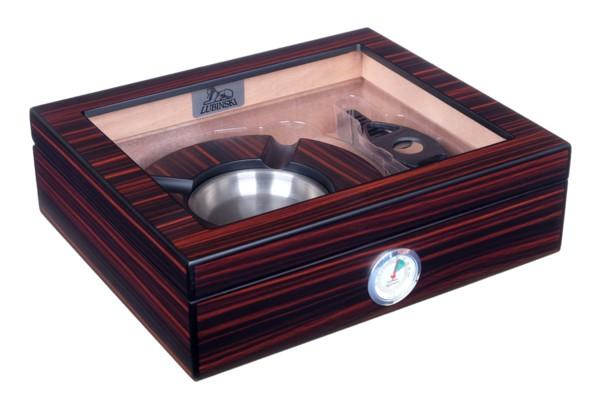 Хьюмидор Lubinski c подарочным набором на 25 сигар QB310 вид 1