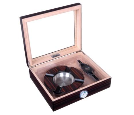 Хьюмидор Lubinski c подарочным набором на 25 сигар QB310 вид 2