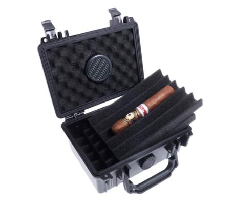 Хьюмидор Lubinski дорожный на 15 сигар Ударопрочный QA020 вид 2