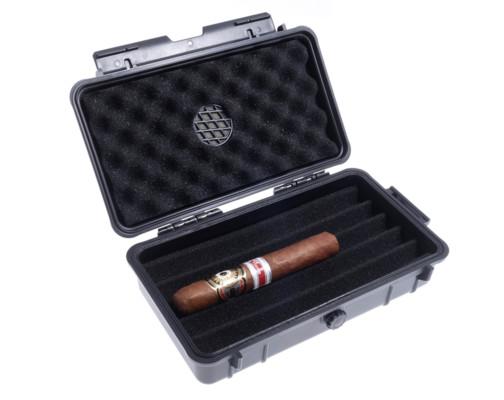 Хьюмидор Lubinski дорожный на 5 сигар Ударопрочный QA010 вид 2