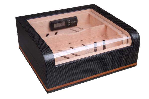 Хьюмидор-шкаф Gentili на 40 сигар  Карбон  CPL-40 вид 1