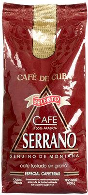 Кубинский Кофе Serrano в зёрнах 1000гр вид 1