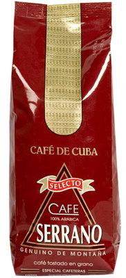 Кубинский Кофе Serrano в зёрнах 500гр вид 1