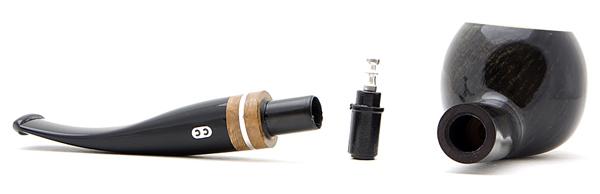 Курительная трубка CHACOM Champs-Elysees 862 9mm вид 2