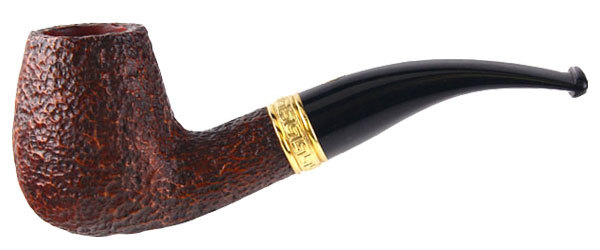 Курительная трубка Savinelli Tevere Rustic 628 9 мм вид 1