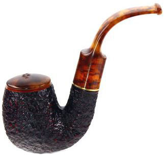 Курительная трубка Savinelli Tortuga Rustic 614 9 мм вид 1