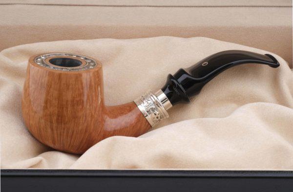 Курительная трубка SER JACOPO Leonardo da Vinci Zaffiro (Сапфир) в шкатулке S699 вид 4