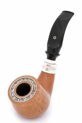 Курительная трубка SER JACOPO Leonardo da Vinci Zaffiro (Сапфир) в шкатулке S699 вид 3