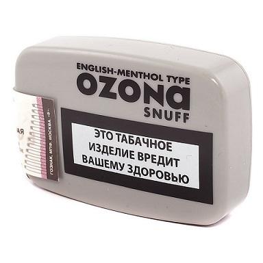 Нюхательный табак Ozona English - Menthol вид 2