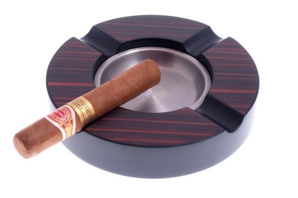 Пепельница сигарная Lubinski Эбеновое дерево E641 вид 1