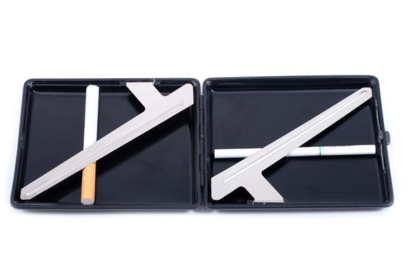 Портсигар Stoll C05-2 Черный Олень на 26 сигарет вид 3