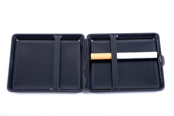 Портсигар Stoll  Черный на 18 сигарет C10 вид 3