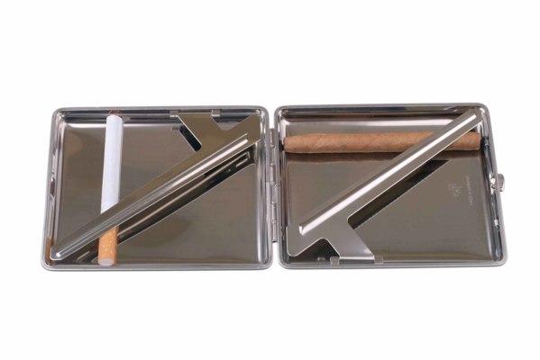 Портсигар Stoll Стальной на 26 сигарет  C43-2 вид 3
