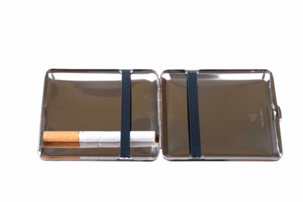 Портсигар Stoll  Стальной на 18 сигарет  C44-2 вид 5