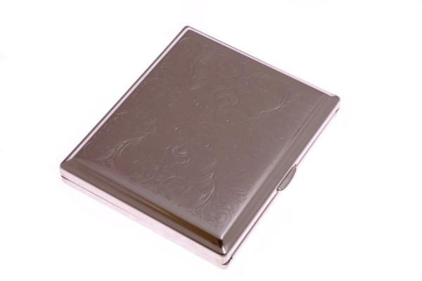 Портсигар Stoll Стальной на 18 сигарет  C45-1 вид 1
