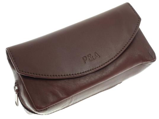 Сумка P&A для трубки и табака P315-Brown вид 1