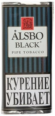 Трубочный табак Alsbo Black вид 1