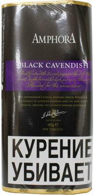 Трубочный табак Amphora Black Cavendish вид 1