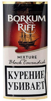 Трубочный табак Borkum Riff Black Cavendish вид 1