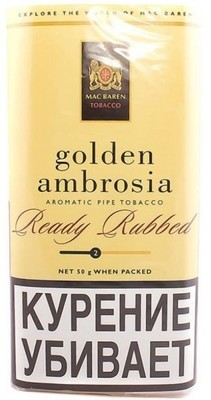 Трубочный табак Mac Baren Golden Ambrosia вид 1
