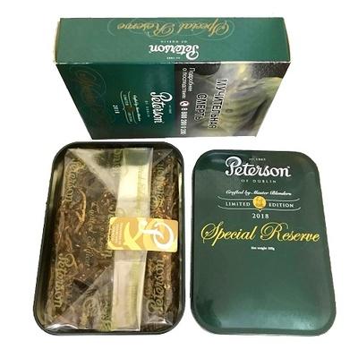Трубочный табак Peterson Special Reserve 2018 вид 2