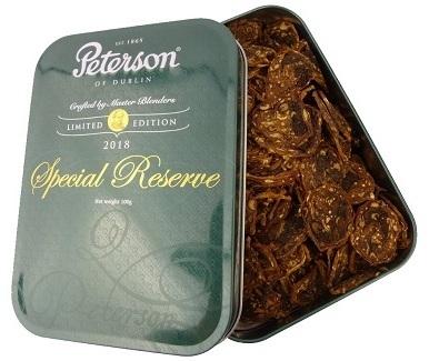 Трубочный табак Peterson Special Reserve 2018 вид 1