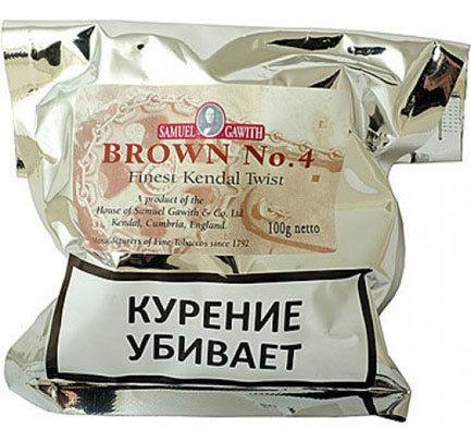 Трубочный табак Samuel Gawith Brown No. 4 (100 гр.) вид 1