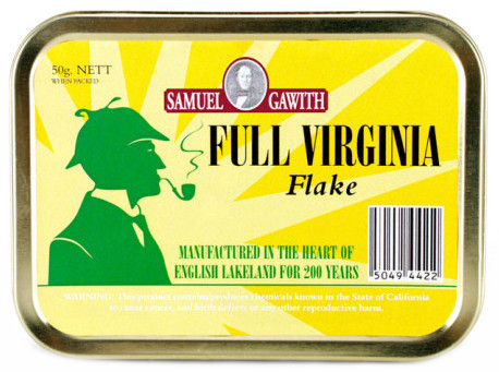 Трубочный табак Samuel Gawith Full Virginia Flake (50 гр.) вид 1