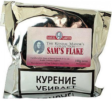 Трубочный табак Samuel Gawith Sam's Flake (100 гр.) вид 1