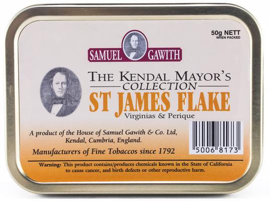 Трубочный табак Samuel Gawith St. James Flake (50 гр.) вид 1