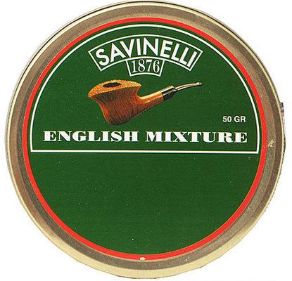 Трубочный табак Savinelli English Mixture вид 1