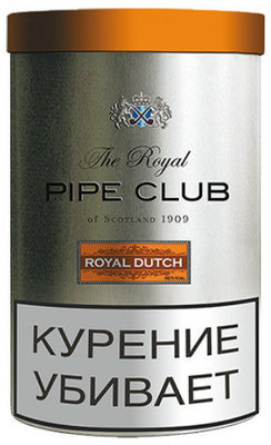 Трубочный табак The Royal Pipe Club Royal Dutch вид 1