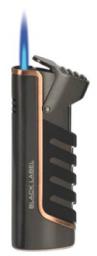 Зажигалка Black Label LBL 10020 Rebel Dark Gun Satin With Copper Line вид 2