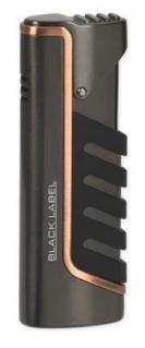 Зажигалка Black Label LBL 10020 Rebel Dark Gun Satin With Copper Line вид 1