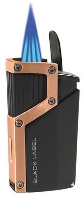 Зажигалка Black Label LBL 140030 Czar Black Matte & Copper вид 2