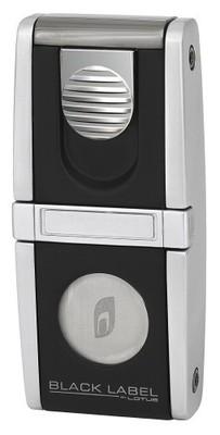 Зажигалка Black Label LBL 40000 Belvedere Black Matte & Brushed Chrome вид 1