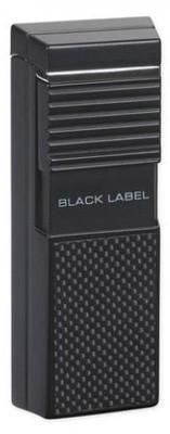 Зажигалка Black Label LBL 50000 El Presidente Black Matte & Carbon вид 1