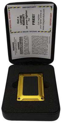 Зажигалка Bugatti 7 BL 750 Anodized Yellow вид 2
