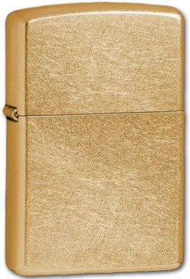 Зажигалка Zippo 207G Gold Dust вид 1